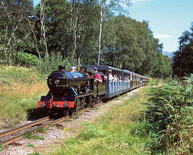 Ravenglass and Eskdale Railway, The Lake District, UK